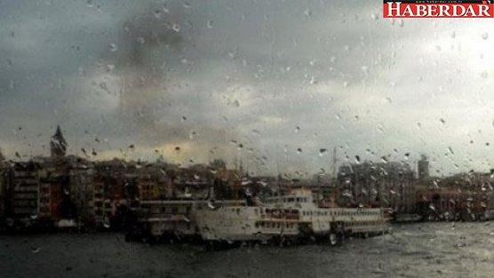 Meteoroloji uyardı, yağmur başladı