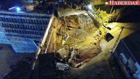 Metro inşaatı yakınında göçük: İki kişi yaşamını yitirdi