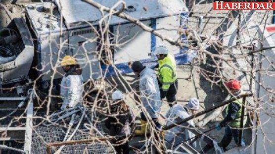 Metro inşaatında kaza: 1 ölü