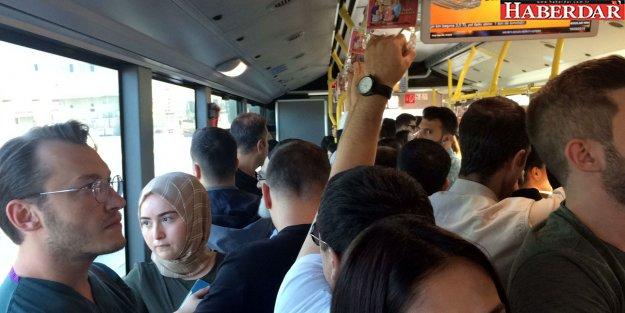 Metrobüs çilesi başladı