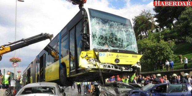 Metrobüs kazalarına karşı önlem alınacak
