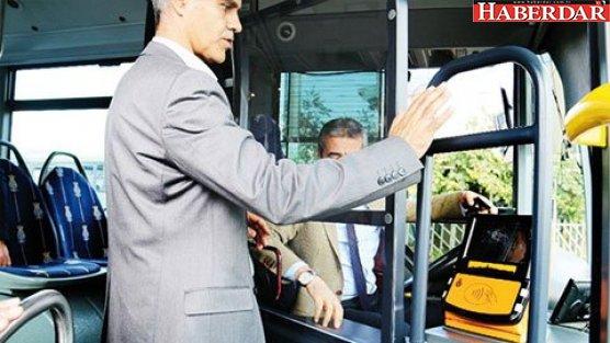 Metrobüslerde cam kabin dönemi