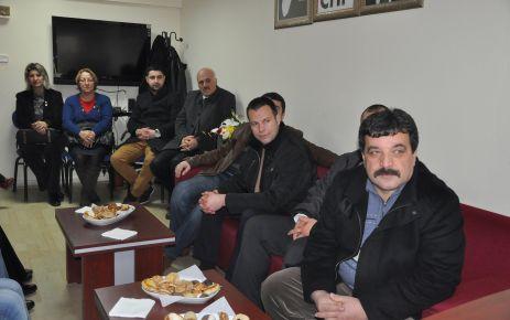 MHP'den Silivri CHP'ye ziyaret