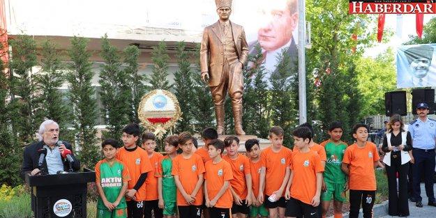 Milli Mücadelenin 100üncü yılı anısına muhteşem Atatürk Anıtı