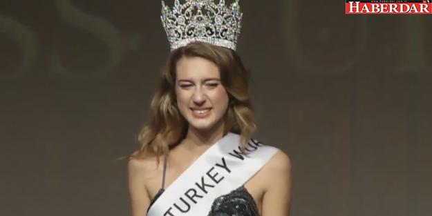 Miss Turkey 2017 birincisi Itır Esen oldu