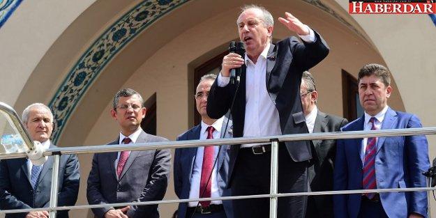 MUHARREM İNCE, 51 GÜNLÜK SEFERBERLİK İLAN ETTİ...