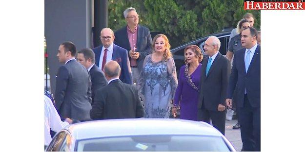 Muharrem İnce, Kemal Kılıçdaroğlu'nun oğlunun düğününe geldi