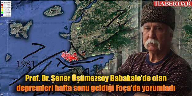 Mühendisi Prof. Dr. Şener Üşümezsoy: Büyük deprem yok...