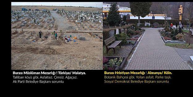 Müslüman ; Hristiyan Mezarlığı Arasında ki fark !