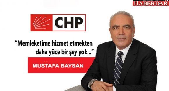 Mustafa Baysan'ın CHP İstanbul İl Başkanlığına adaylığına talip!