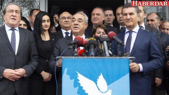 Mustafa Sarıgül, DSP'den aday oldu