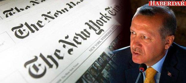 New York Times gazetesi: Yalnız adam Erdoğan!