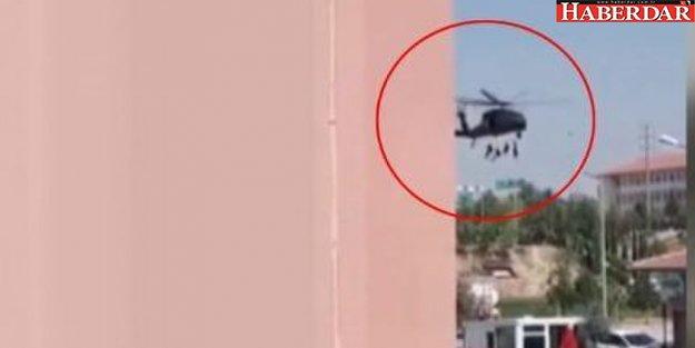 Niğde'de helikopter kazasında 1 polis şehit oldu