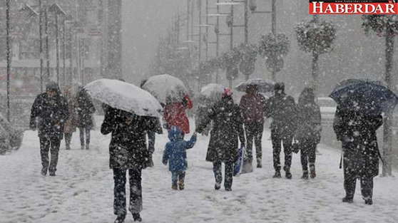 O güne dikkat! Kar geri geliyor