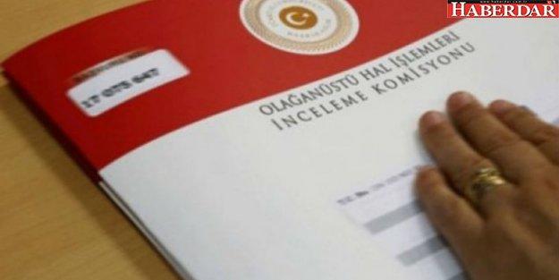OHAL Komisyonu'ndan karar çıktı