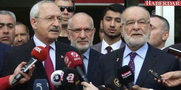 Ortadoğu için HAYIR buluşması! CHP,  SP,  İYİ Parti ve HDP...