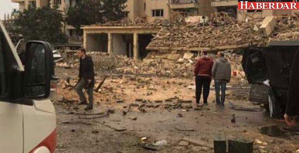 Polis lojmanlarına bombalı araçla saldırı: 2 şehit