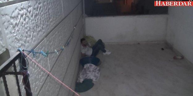 Polisten kaçarken bacağı kırıldı
