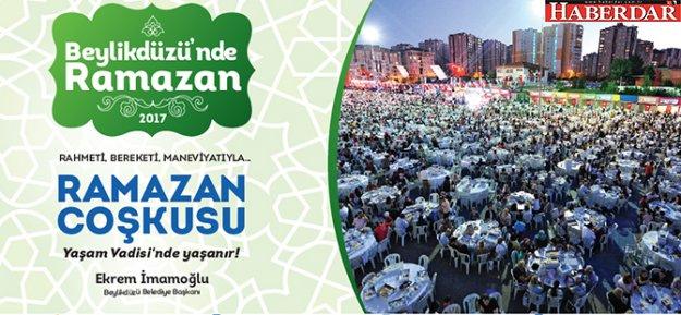 Ramazan etkinlikleri, Beylikdüzü Yaşam Vadisi'nde olacak
