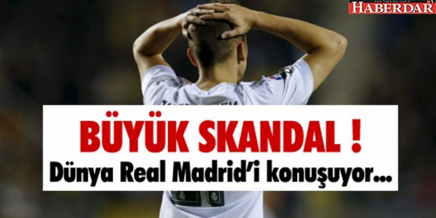 Real Madrid kupadan diskalifiye edildi