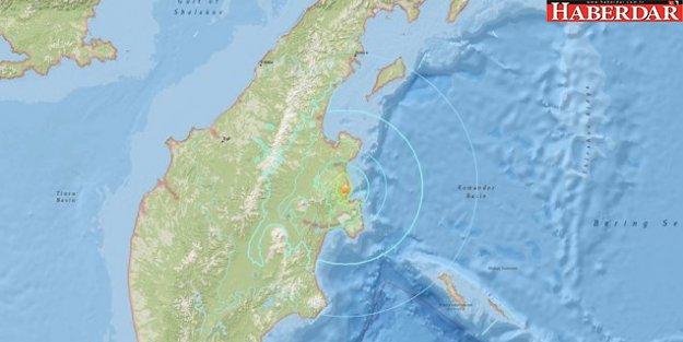 Rusya'da 6.6 büyüklüğünde deprem