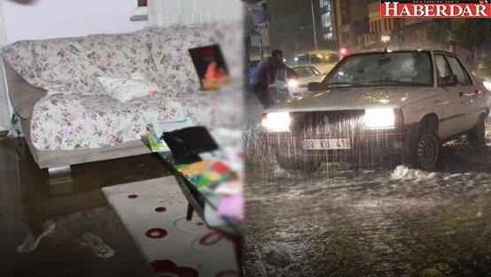 Sağanak İstanbul'u vurdu