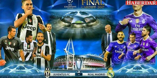 (Şampiyonlar Ligi Finali) Juventus-Real Madrid hangi kanalda saat kaçta?