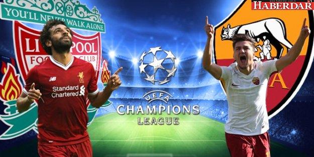Şampiyonlar Liginde Liverpool - Roma Maçı Şifresiz Kanalda