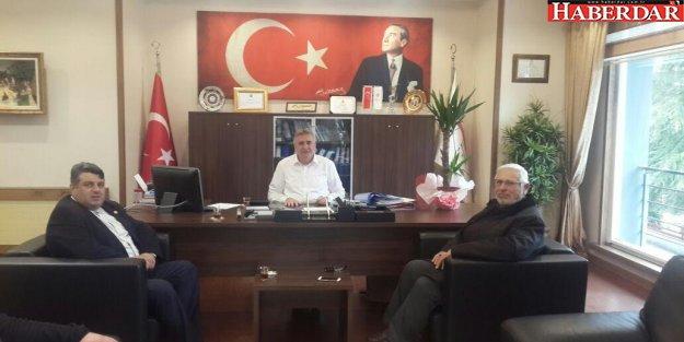 Şehit babasından Başkan Cem Kara'ya anlamlı ziyaret