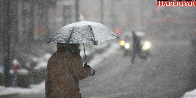 Sıcaklıklar sert düşecek, 6 il için sel uyarısı