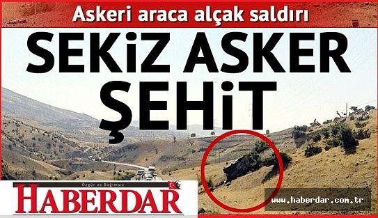 Siirt'te askere bombalı tuzak: 8 şehit