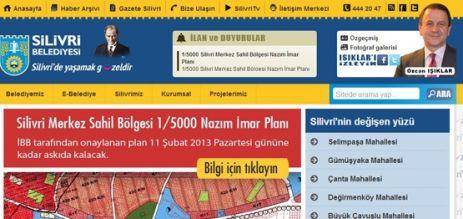 Silivri Belediyesi web sitesi yenilendi