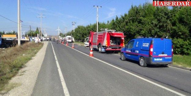 Silivri'de Feci Kaza : 2 Ölü