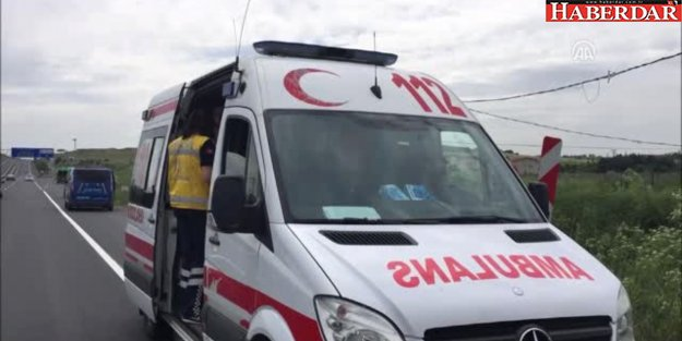 Silivri'de Otomobil Dereye Düştü: 2 Yaralı