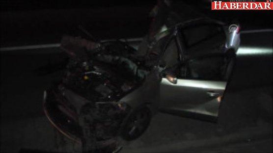 Silivri'de Tırla Otomobil Çarpıştı: 1 Yaralı
