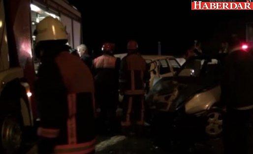 Silivri'de Trafik Kazası: 3 Yaralı