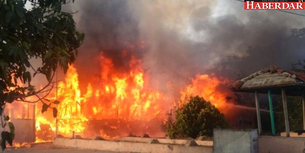 Silivri'de Yangın
