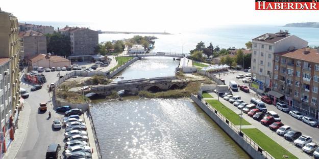 Silivri'ye geçici köprü geliyor