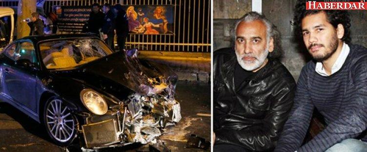 Sinan Çetin'in oğlu Rüzgar Çetin kaza yaptı: 1 polis şehit