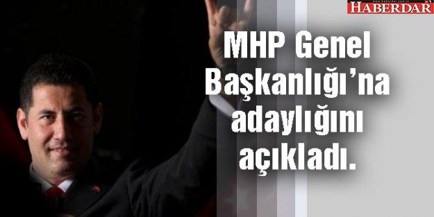 Sinan Oğan, MHP Genel Başkanlığı'na adaylığını açıkladı.