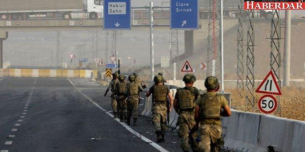 Sınırda mevziler hazır