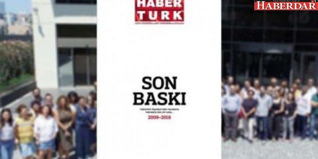 Son baskısını yaptı: Gazete Habertürk'ten okurlarına veda