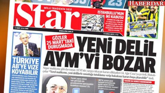 Star: Dündar 25 Mart'ta tutuklanabilir