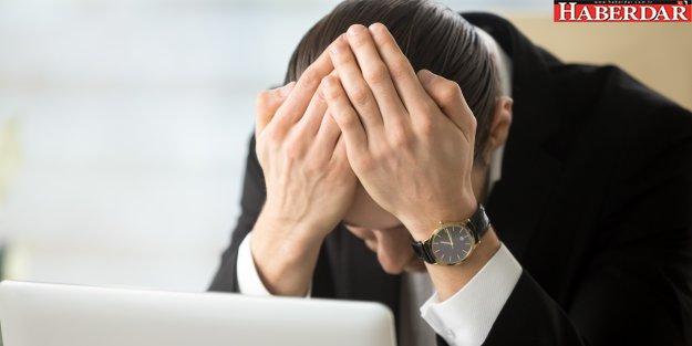 Stresin en büyük sebebi iş hayatı