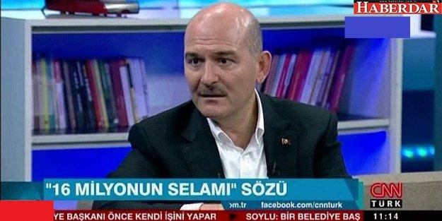 Süleyman Soylu: 'İstanbul ve Ankara'ya kayyum söz konusu değild'