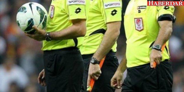 Süper Lig'de hakemler belli oldu