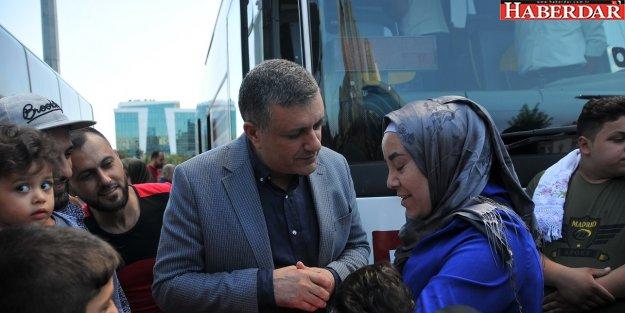 Suriyeliler memleketlerine gitti