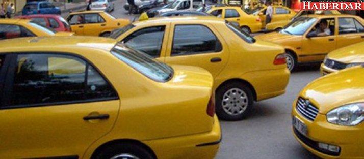 Taksiciler İBB'ye rest çekti