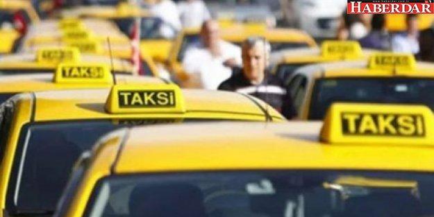 Takside 'uzun mesafe' krizi kapıda
