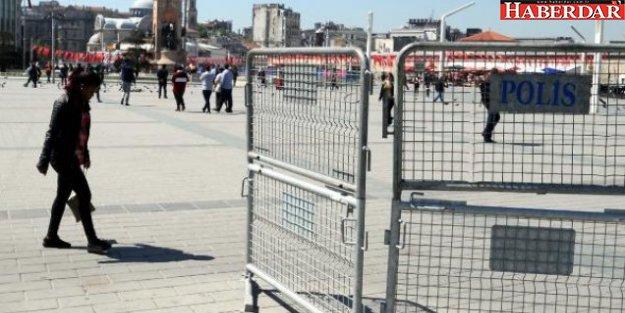 Taksim'de 1 Mayıs ablukası hazırlığı
